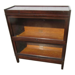 Early 20th Century Globe Wernicke Sectional Bookcase For Sale