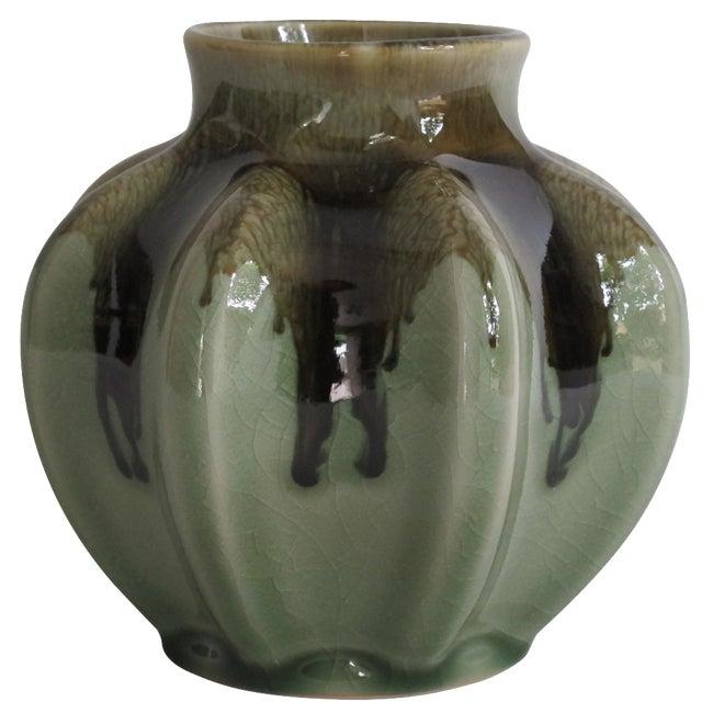Ridged Bud Vase - Image 1 of 6
