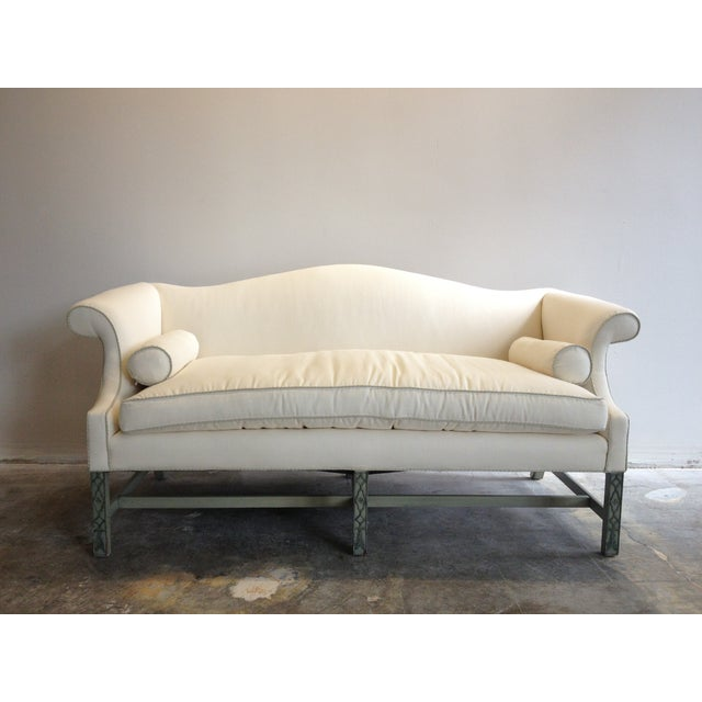 Kittinger Chippendale Sofa With Fretwork Legs - Image 2 of 5