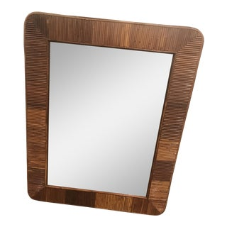 Gabriella Crespi Style Pencil Reed Mirror
