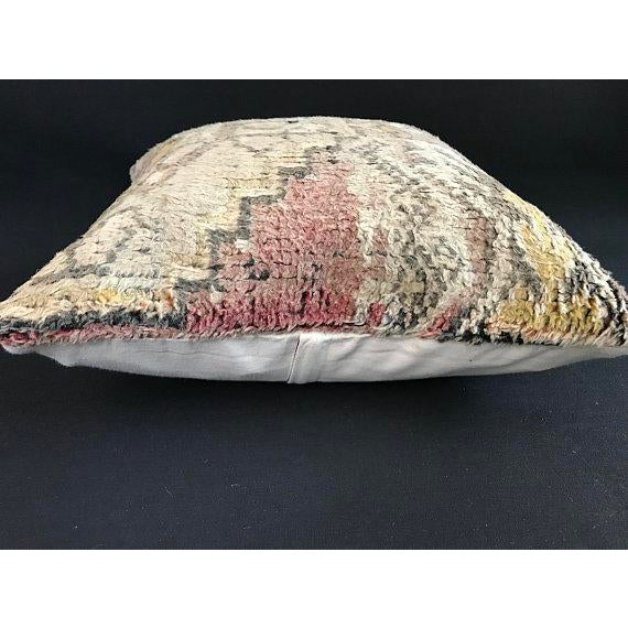 Turkish Anatolian Oushak Wool Pillow Case For Sale In Austin - Image 6 of 9