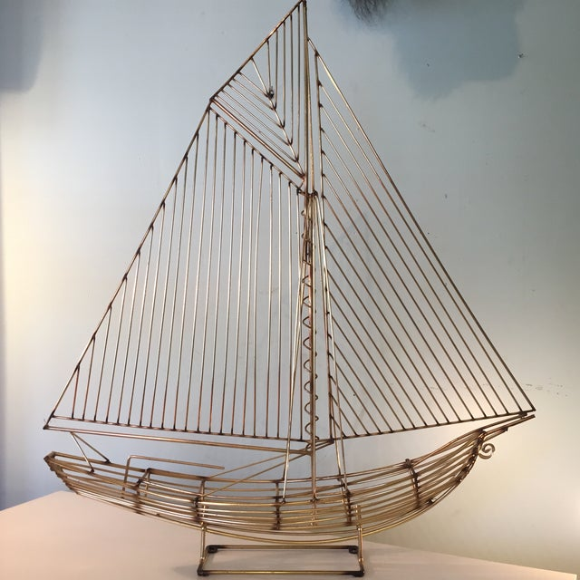 Curtis Jere Sailboat Sculpture For Sale In Richmond - Image 6 of 6