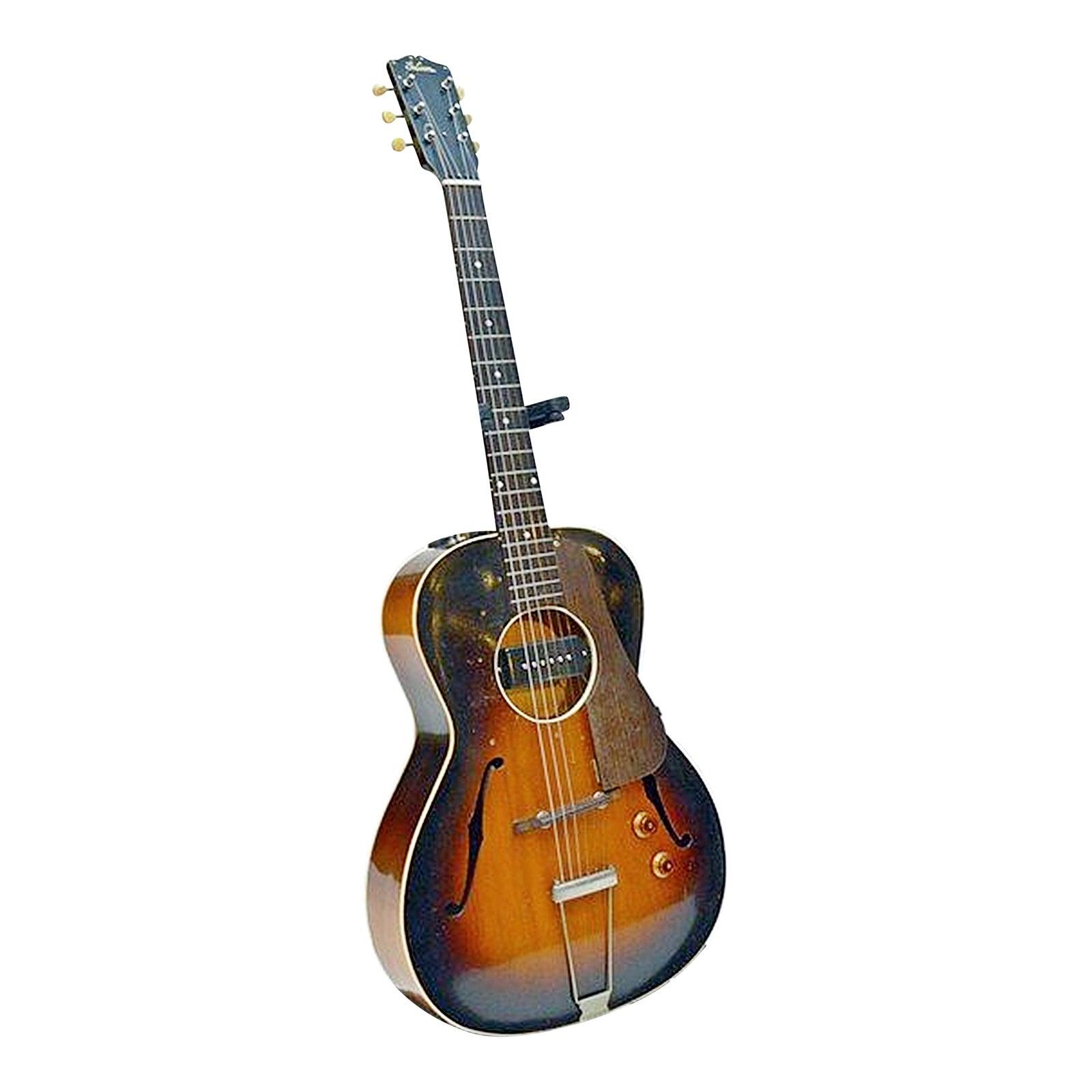 Pre War Gibson L 37 Modified Guitar Chairish