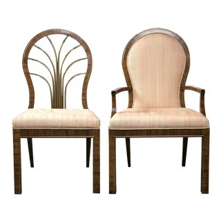 Mastercraft Art Deco Dining Chairs - Set of 6