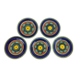 Mid-Century DeSimone Plates - Set of 5 For Sale