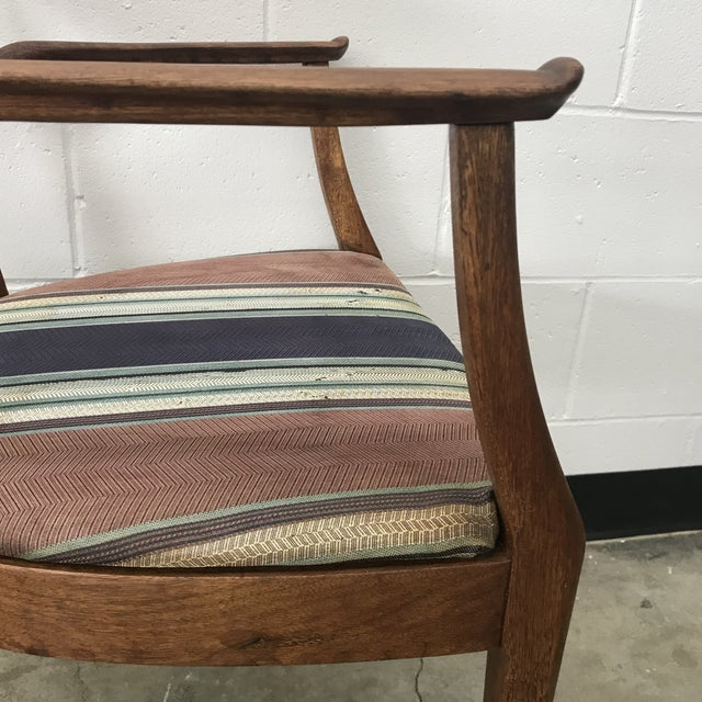 Kipp Stewart Armchair for Drexel For Sale - Image 6 of 13