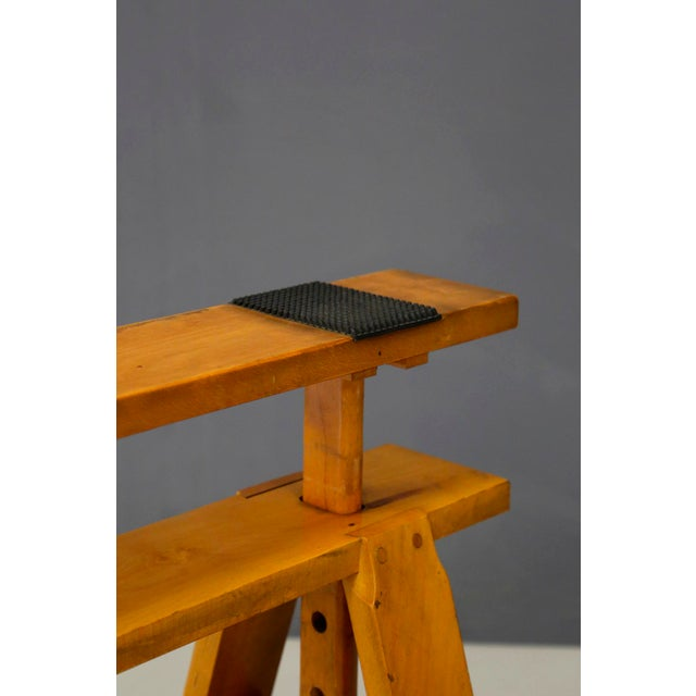 Pair of MidCentury Easels for Leonardo Table by Achille Castiglioni for Zanotta For Sale - Image 6 of 8
