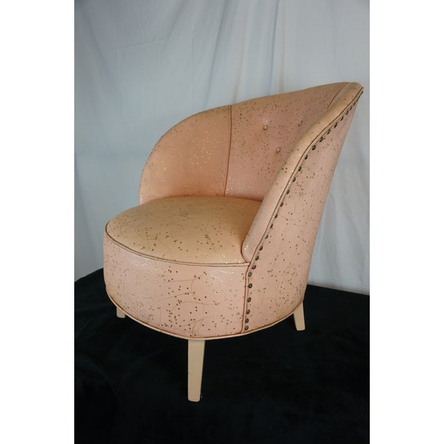 Deco Shell Club Chair - Image 9 of 9