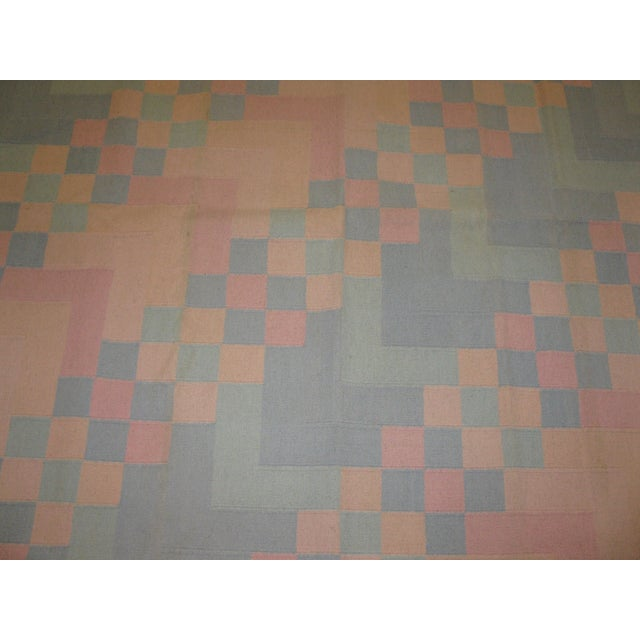 Reversible Indian Dhurry Rug - 6'1'' X 9'2'' - Image 3 of 5