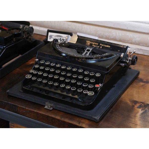 Remington Portable Model 5 Typewriter With Case - Image 2 of 7