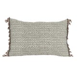 Image of Fortuny Pillow With Zigzag Design For Sale