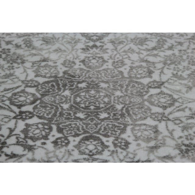 Gray Faded Medallion Rug - 5' X 8' - Image 5 of 6