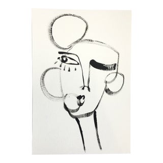 Abstract Portrait, Vivi by Erica Beck For Sale