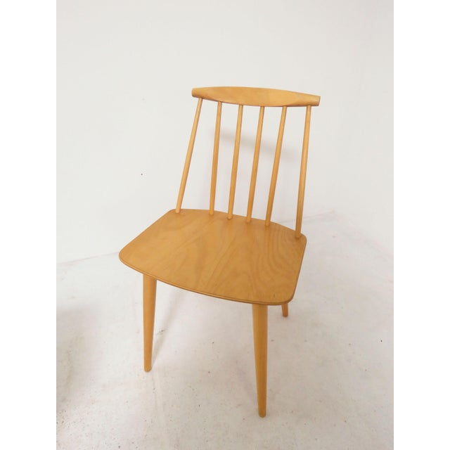 Set of Four Folke Palsson for Fdb Mobler, Denmark Dining Chairs, Circa 1975 For Sale - Image 9 of 11