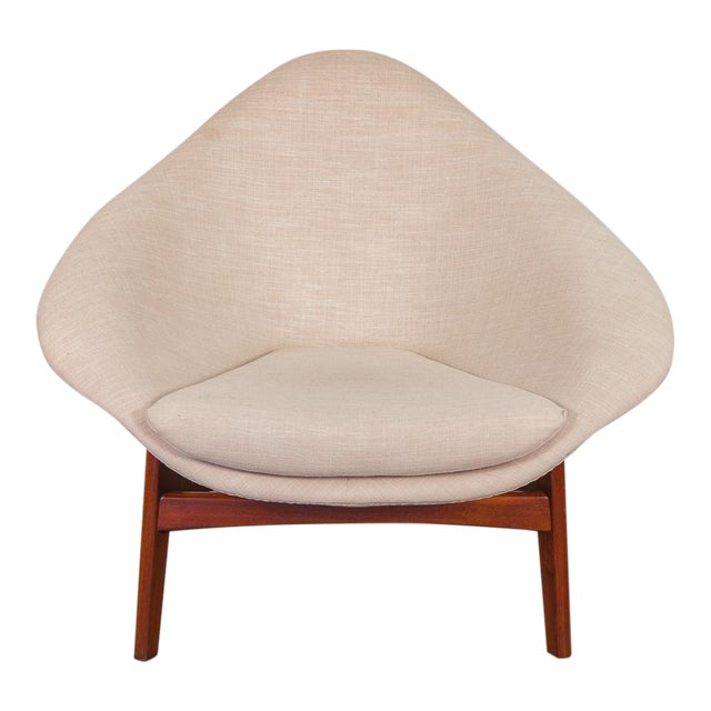Rare Adrian Pearsall Coconut Chair For Sale
