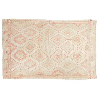 "Vintage Distressed Jijim Rug - 4'7"" X 7'3"" For Sale"
