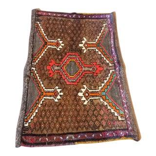 """Antique Kars Nomad Camel Wool Rug - 3'6"""" x 2'3"""""""