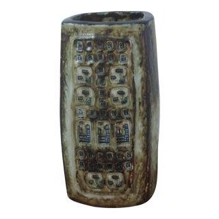 1970s Jorgen Mogensen Danish Royal Copenhagen Stoneware Vase For Sale