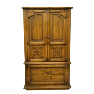 American of Martinsville Mediterranean Chest Armoire For Sale