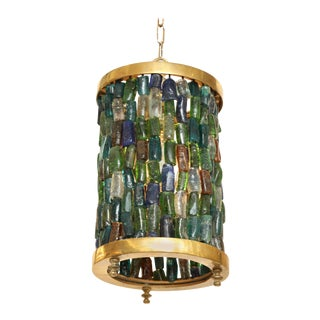 Small Multicolored Lantern For Sale
