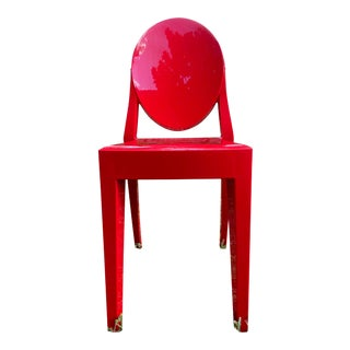 Victoria Ghost Red Chair Phillip Starck for Kartell