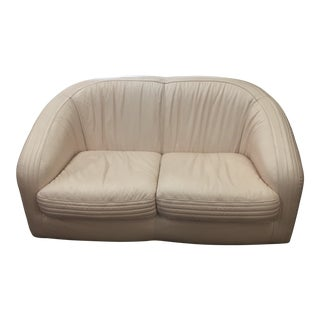 Early 21st Century Vintage Natuzzi Love Seat For Sale