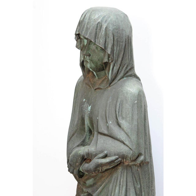 Bronze Female Statue For Sale - Image 4 of 13
