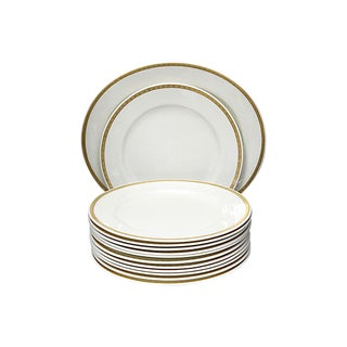 1928 Gilded Edge Royal Worcester Set - 13 Pieces