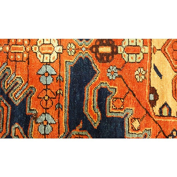 """Antique Malayer Rug - 6'4"""" x 4' For Sale - Image 4 of 7"""
