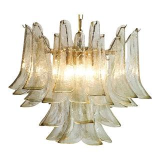 Murano Glass Petal Chandelier