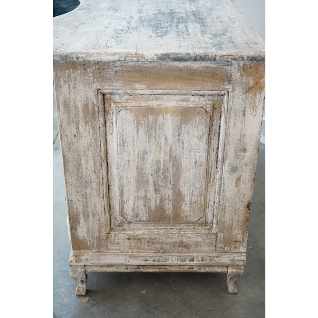 French Antique French Painted Chest For Sale - Image 3 of 8