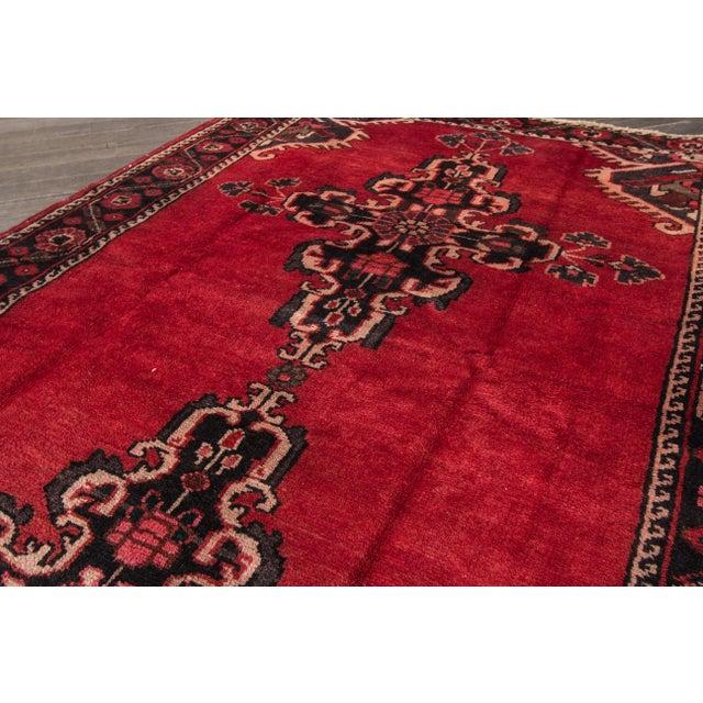 """Apadana - Vintage Persian Rug, 4'4"""" X 6'7"""" - Image 5 of 7"""