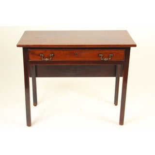 18th Century George II Mahogany Drop Leaf Games Table Preview