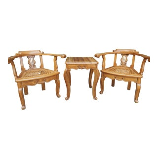 South American Tea Table & Chairs