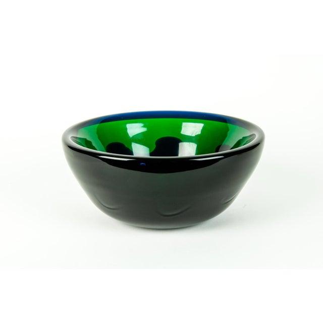 Art Deco Mid Century Art Deco Style Murano Deco Bowl For Sale - Image 3 of 7