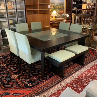 Creative Elegance Dining Table + Chairs + Bench Set Preview