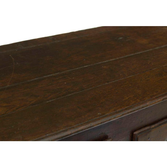 Rustic Early 19th Century French Continental Oak Enfilade For Sale - Image 3 of 6