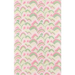 Madcap Cottage Embrace Cloud Club Pink Area Rug 2' X 3' For Sale