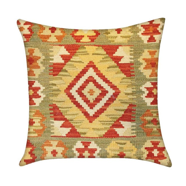 Vintage Pasargad Turkish Kilim Pillow - Image 1 of 2
