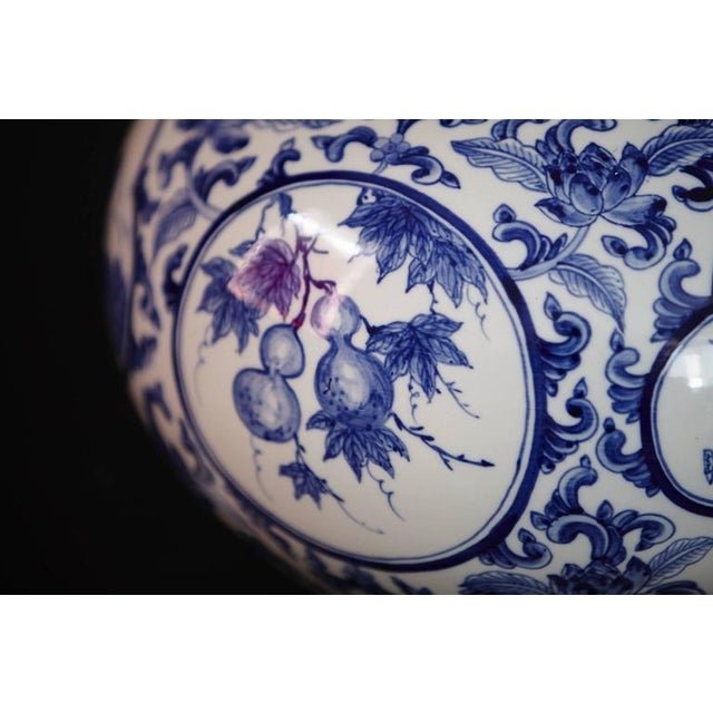 Japanese Blue and White Porcelain Vase - Image 7 of 8