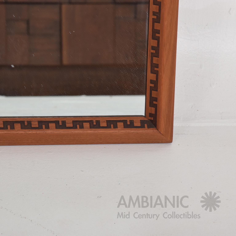Superb Mid Century Modern Frank Lloyd Wright Mirror Or Frame Decaso