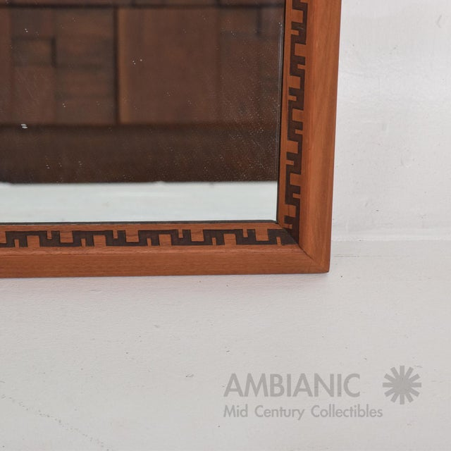 1950s Mid-Century Modern Frank Lloyd Wright Mirror or Frame For Sale - Image 5 of 6