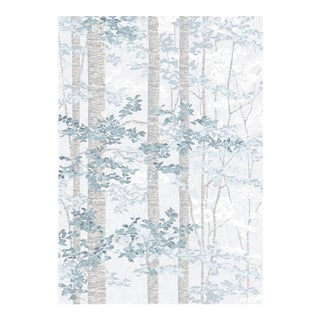 Bosky Blue Yonder Wallpaper Sample For Sale