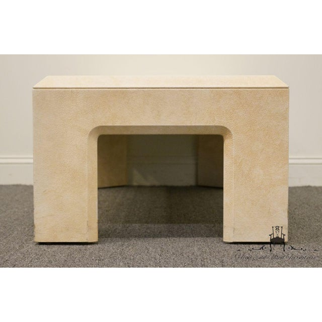 """Wood Lane Furniture Contemporary Style 54"""" Coffee Table For Sale - Image 7 of 13"""