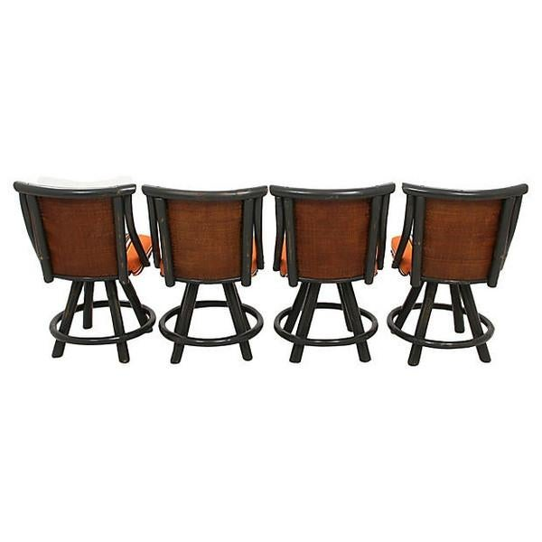Mid-Century Bamboo Set - 5 Pieces - Image 3 of 7