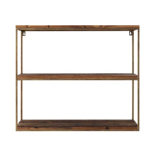 Metal 3 Tier Wall Shelf For Sale