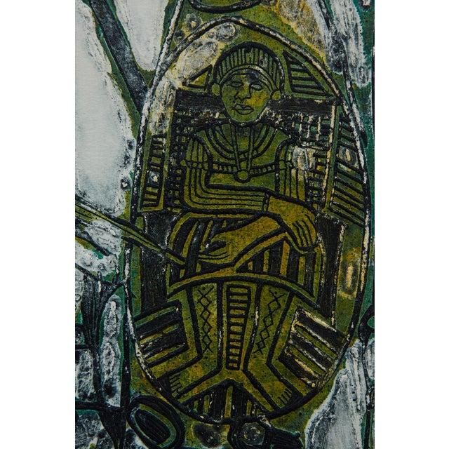 Engraving Bruce Onobrakpeya Nomorere Print For Sale - Image 7 of 11