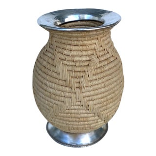 Woven Vase For Sale