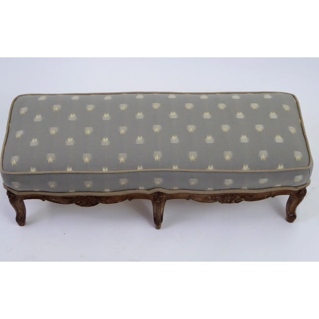 Louis XV Louis XV Foot Stool Tabouret with Original Age Finish 18th Century For Sale - Image 3 of 13
