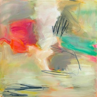 """""""Flower Power"""" by Trixie Pitts Abstract Oil Painting For Sale"""